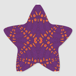 Fyre Trybe Star Sticker