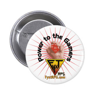 Fyxt RPG Power to the Gamers Button