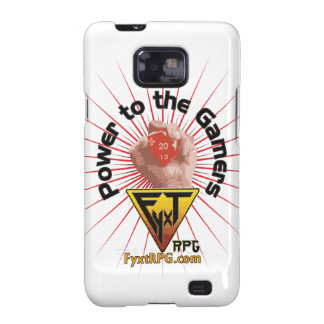 Fyxt RPG Power to the Gamers Samsung Galaxy S2 Cover