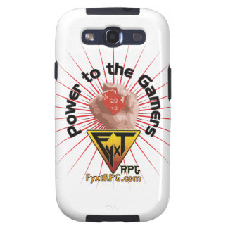 Fyxt RPG Power to the Gamers Samsung Galaxy S3 Cases