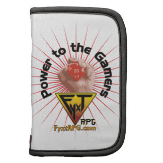 Fyxt RPG Power to the Gamers Folio Planner