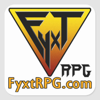 Fyxt RPG Sticker