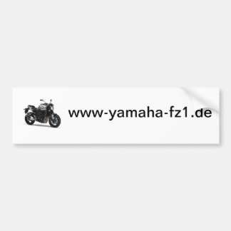 FZ1 autosticker Bumper Sticker