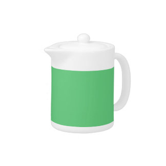 G09 Pleasantly Mellow Light Green Color Teapot