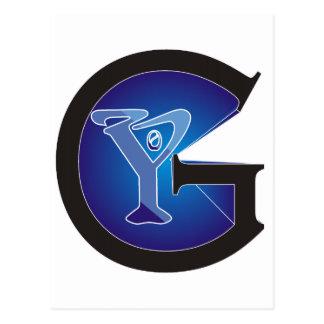 G0Y Fashion Logo Postcard