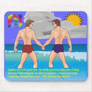 G0Y Philosophy Strengths Mouse Pad