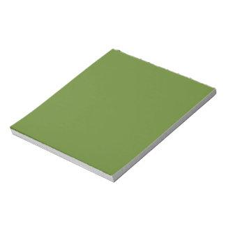 G15 Graciously Social Green Color Notepad