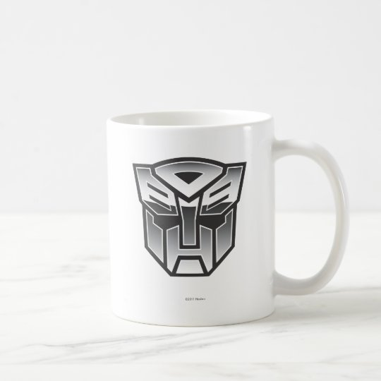 G1 Autobot Shield BW Coffee Mug