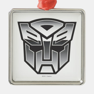 G1 Autobot Shield BW Metal Ornament