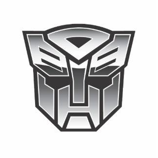 G1 Autobot Shield BW Standing Photo Sculpture