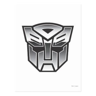 G1 Autobot Shield BW Postcard