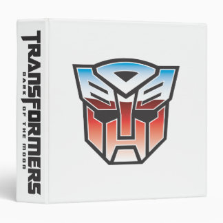 G1 Autobot Shield Color 3 Ring Binders