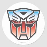 G1 Autobot Shield Color Classic Round Sticker