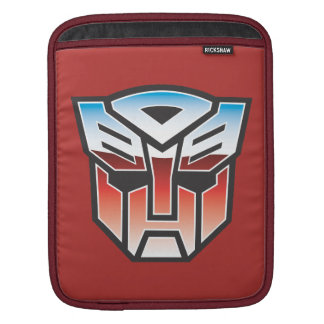 G1 Autobot Shield Color iPad Sleeves