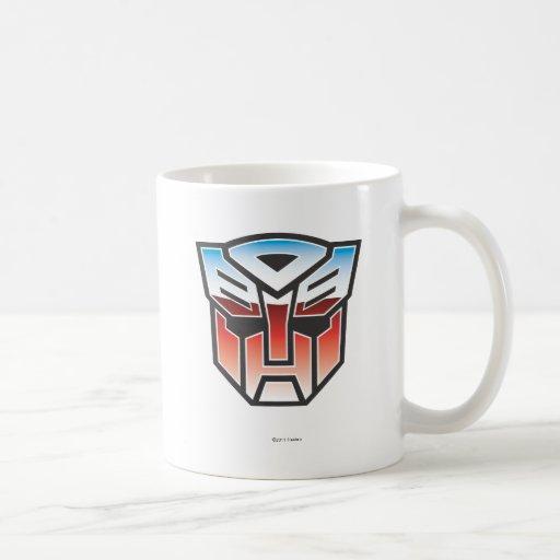 G1 Autobot Shield Color Coffee Mug