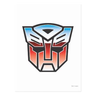 G1 Autobot Shield Color Postcard