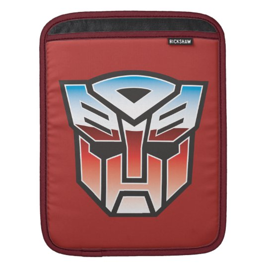 G1 Autobot Shield Color Sleeve For iPads