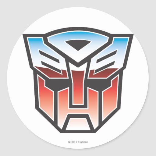 G1 Autobot Shield Color Stickers