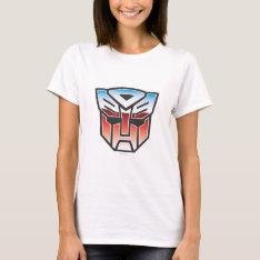 G1 Autobot Shield Color T-shirt at Zazzle