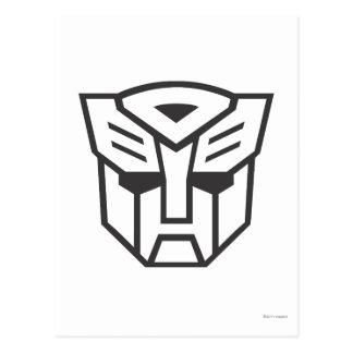 G1 Autobot Shield Line Postcard