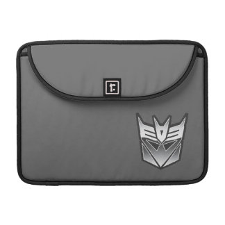 G1 Decepticon Shield BW Sleeves For MacBooks