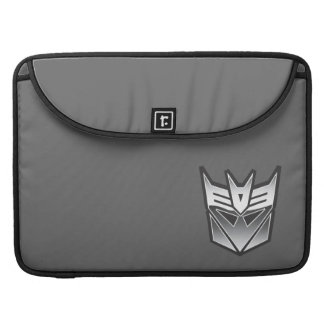 G1 Decepticon Shield BW Sleeves For MacBook Pro