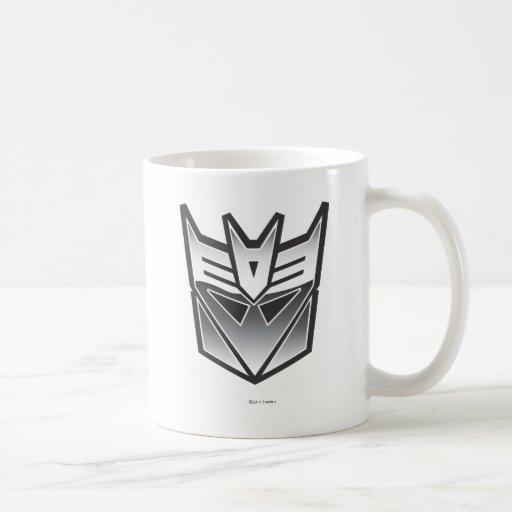 G1 Decepticon Shield BW Mug