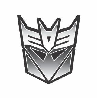 G1 Decepticon Shield BW Standing Photo Sculpture