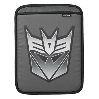 G1 Decepticon Shield BW Sleeve For iPads