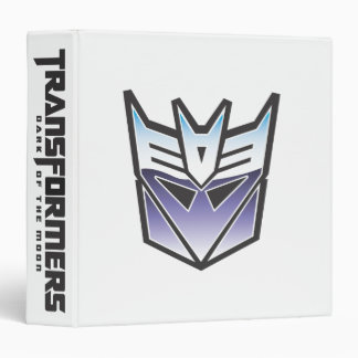 G1 Decepticon Shield Color Binder