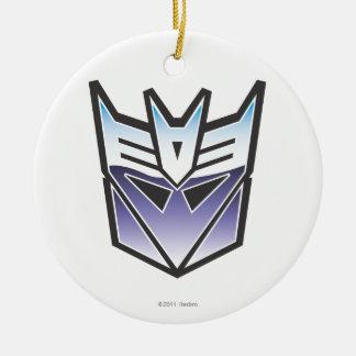 G1 Decepticon Shield Color Ceramic Ornament