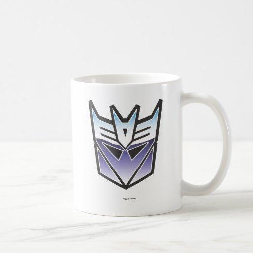 G1 Decepticon Shield Color Classic White Coffee Mug