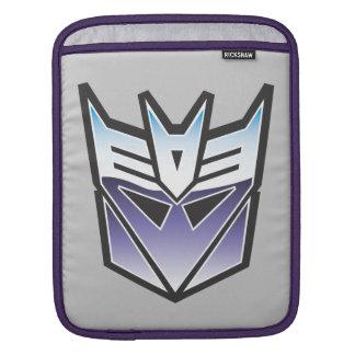 G1 Decepticon Shield Color iPad Sleeve