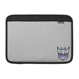 G1 Decepticon Shield Color MacBook Sleeve