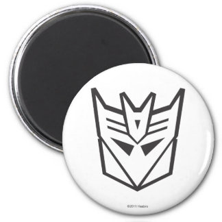 G1 Decepticon Shield Line 2 Inch Round Magnet