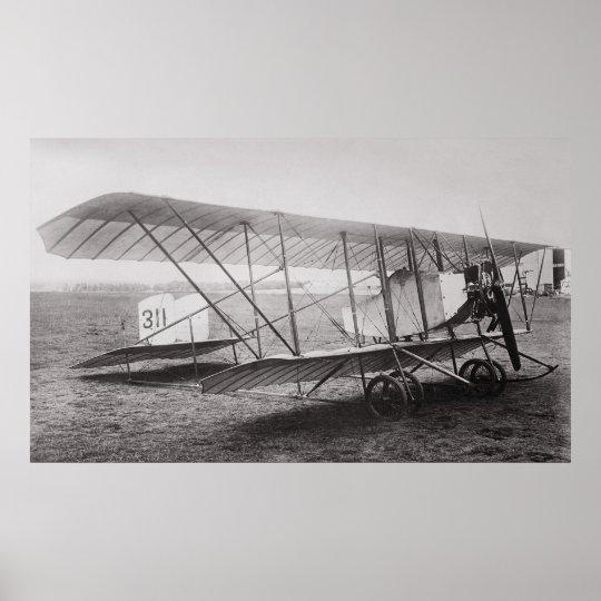 G2 CAUDRON AEROPLANE c. 1912 Poster