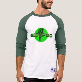 G33kpod jersey 3/4 Tee