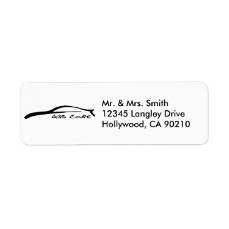 G35 Coupe Return Address Labels