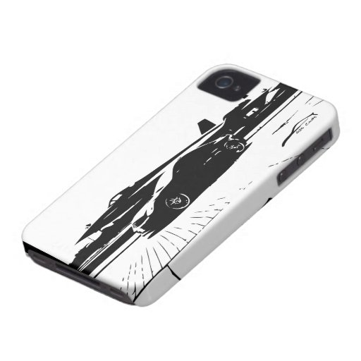 G35 Coupe Side shot with Commerical Jet Case-Mate iPhone 4 Case