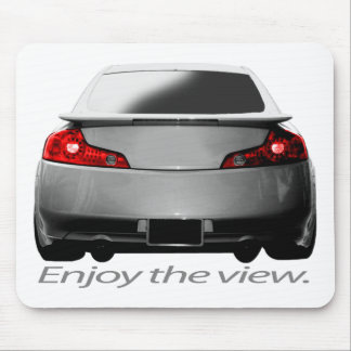 "G35 ""Enjoy the view."" Mouse Pad"