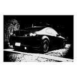 G35 Rear View Parking Structure shot Posters