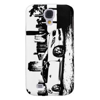 G37 Coupe City Scene Samsung Galaxy S4 Cover