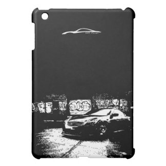 G37 Coupe with graffiti background iPad Mini Cases