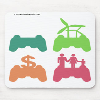 G4C Stacked Icons Mousepad