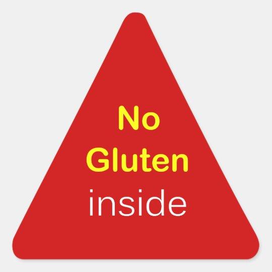g6 - Food Label ~ NO GLUTEN INSIDE.