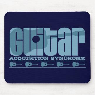 G A S Acoustic Blue Mouse Pads