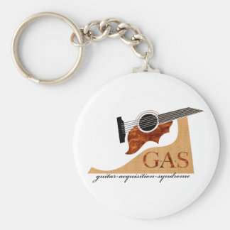 G.A.S. Acoustic Guitar Keychain