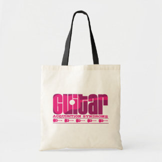 G.A.S. Acoustic Pink Tote Bags