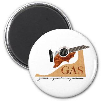 G.A.S. Guitarra acústica Imán Redondo 5 Cm