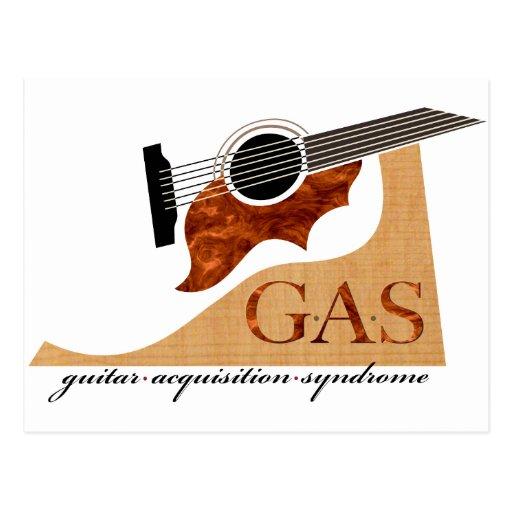 G.A.S. Guitarra acústica Postal